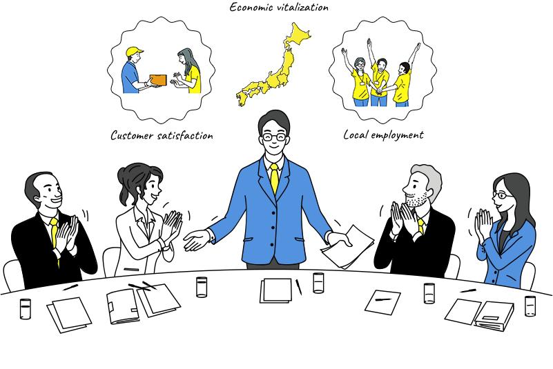 <p>日本経済の活性化</p> <p>- 全ての大手・老舗(を目指すも含む)メーカー企業に</p> <p>持続可能なイーコマース戦略を -</p>
